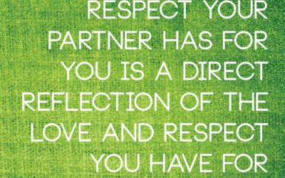 Happy Lesbian Couples Strategy 11:  Show Respect Lesbian Couples