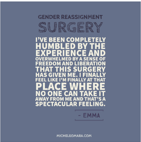 GENDER REASSIGNMENT SURGERY:  Personal account of surgery with Dr. Gallagher