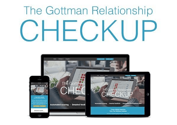 Gottman Relationship Checkup:  Assess Your Relationship Health in Detail