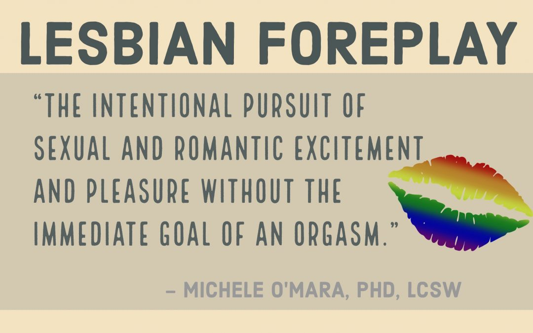 Lesbian Foreplay:  Part 1 of 2
