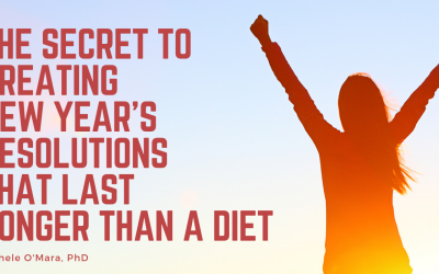 The Secret to New Year's Resolutions that Last Longer than ADiet